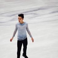 Nam Nguyen performing his short program at the ISU World Championships 2018.
