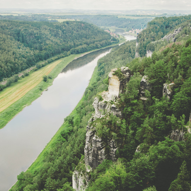 Saxon Switzerland National Park.