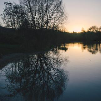 University of East Anglia lake.