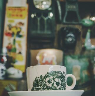Antique cup.