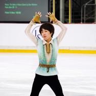 Kao Miura performing his free program at the ISU Junior Grand Prix Riga 2019.