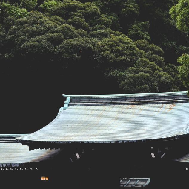 Meiji Jingu Mae.