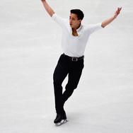 Julian Zhi Jie Yee performing his short program at the ISU World Championships 2018.