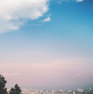 The view from the Penang Hill.