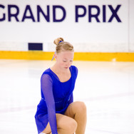 Maria Levushkina performing her free program at the ISU Junior Grand Prix Riga 2019.