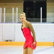 Joshi Helgesson during the free skating at the Coupe du Printempts 2016.
