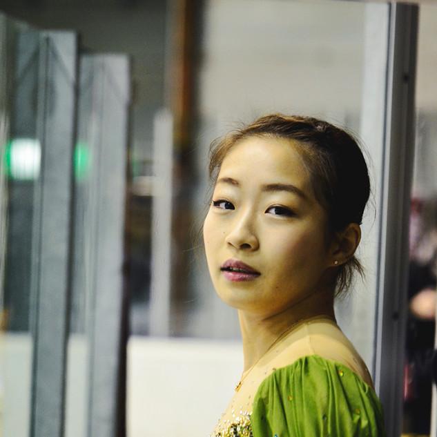 Rin Nitaya before the gala.