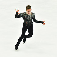 "Andrei Mozalev performing his free skating at the Rostelecom Cup 2020.   Андрей Мозалев в произвольной программе на ИСУ Гран-при ""Кубок Ростелеком"" 2020."