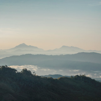 The view from Sosodikon Hill during sunrise.
