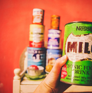 Old Milo package.