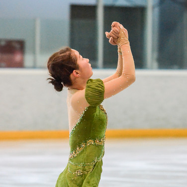 Rin Nitaya during the practice at the Coupe du Printempts 2016.