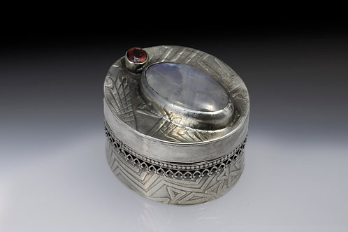 Sterling Silver Cremains Box