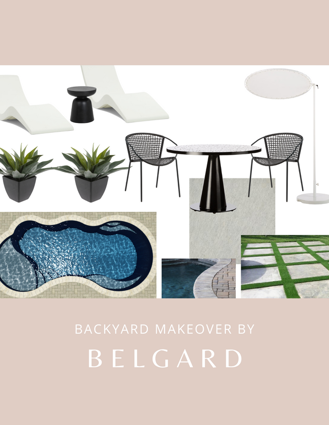 Backyard Makeover By Belgard