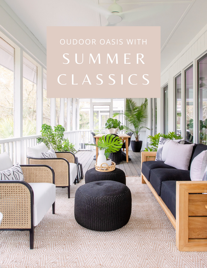Outdoor Oasis with Summer Classics
