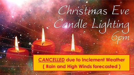 2020-12-24 Christmas Eve Candle Lighting