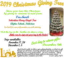 2019-11-17 Christmas Giving Tree Bulleti