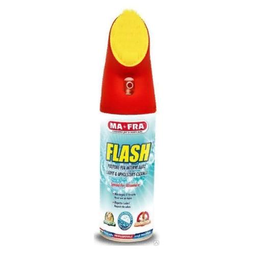 FLASH (spray) 400 ML очиститель обивки салона антибактериальный пенный