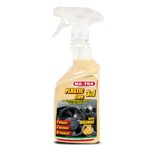 3in1 PLASTIC Care 500 ML Очищающее восстанавливающее защитное средство 3 в 1