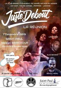 Juste Debout 2020 - La Réunion
