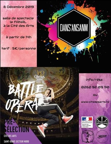 Dans'Ansanm - Battle Opéra