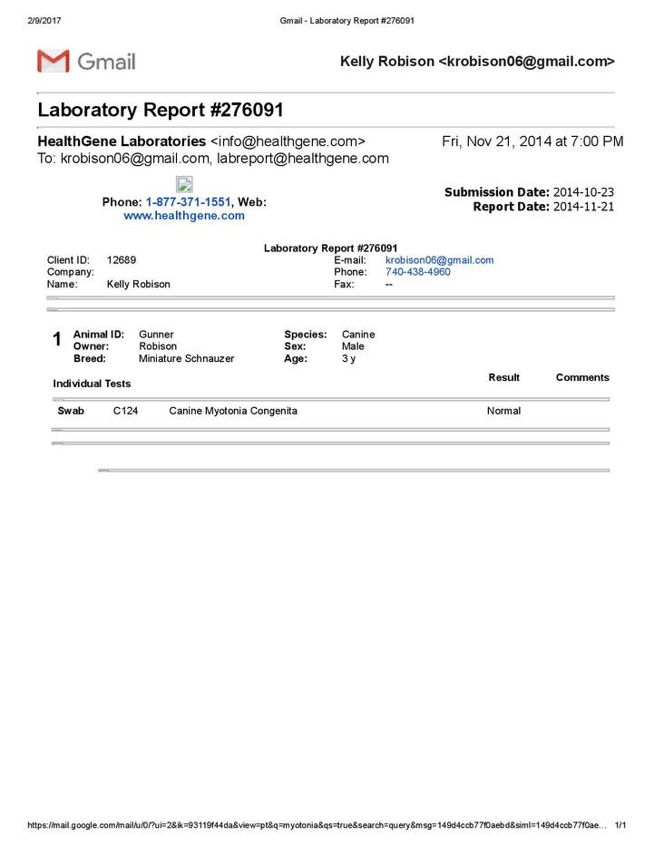 Myotonia_Gunner_Laboratory Report #27609
