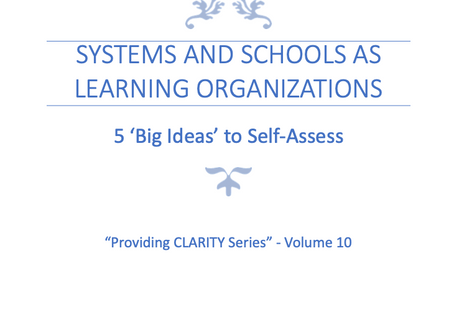 Systems and Schools as Learning Organizations
