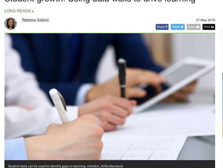 Student growth: Using data walls to drive learning