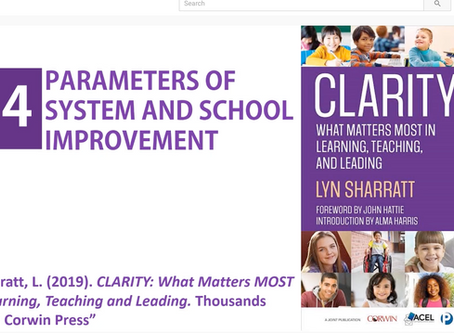 14 Parameters of System and School Improvement