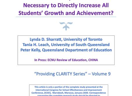 CLARITY Series Volume 9 - Leadership Actions