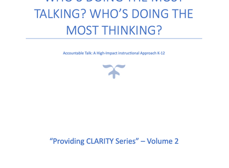 Part 2: Who's Doing the most talking? Who's doing the most thinking?