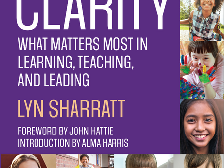 CLARITY Book Study Part 5 now online! New sessions each day of the week