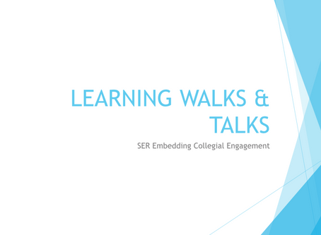 Learning Walks and Talks