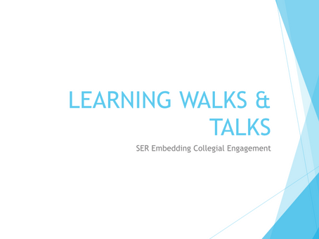 Learning Walks and Talks