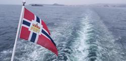 Jan 4 2019 View Leaving Trondheim Norway