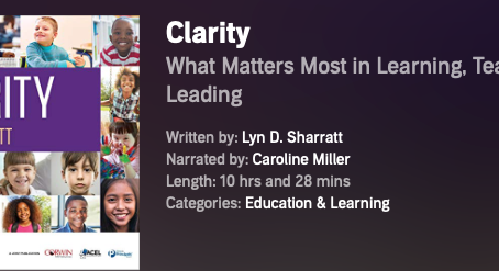 CLARITY Audiobook now on Audible!
