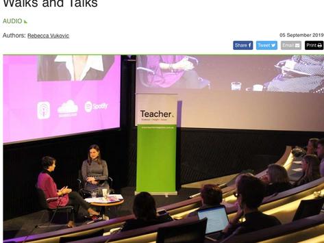 Teacher Talks Episode 1: Dr Lyn Sharratt on Learning Walks and Talks