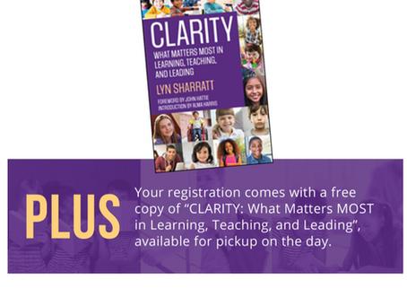 Clarity Workshops in Australia Announced