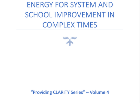 Part 4: Sustaining Leadership Energy for System and School Improvement in Complex Times