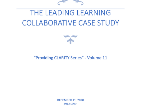 The Leading Learning Collaborative case study