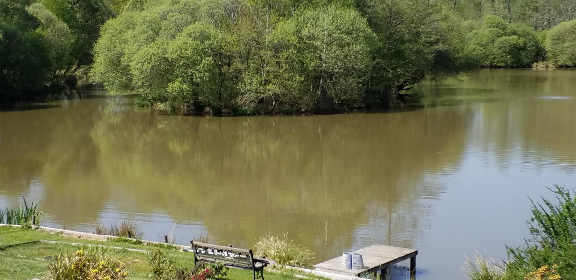 Carp Lake at Les Gravelles