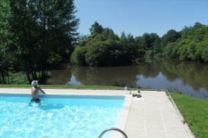 Swimming Pool at Les Gravelles