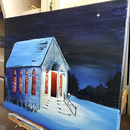 Oil & Acrylic on canvas. ._._._._.jpe