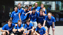 Sensationelles U15 Team: 4. Platz