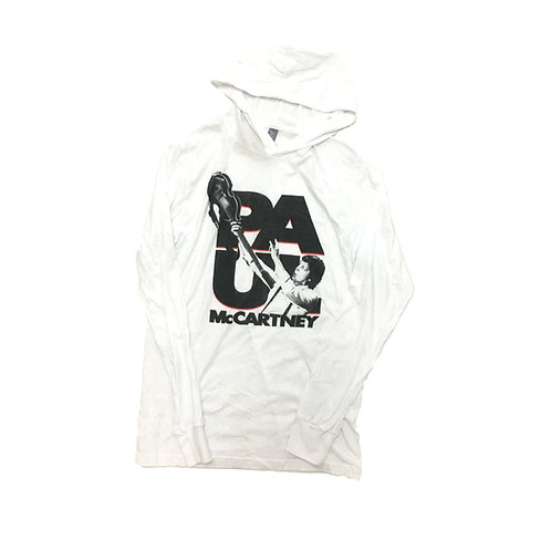 Paul McCartney Hooded T Shirt
