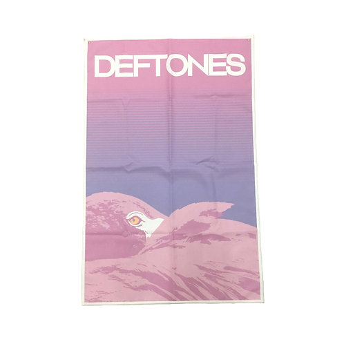Deftones Textile Poster  (with two wall sticky hooks)