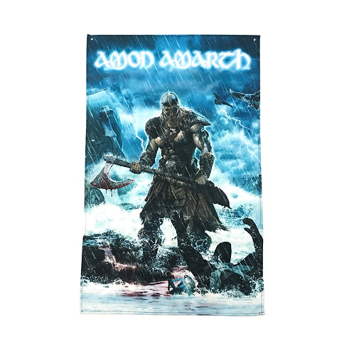 Amon Amarth Textile Poster (with two wall sticky hooks)