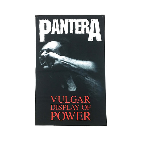 Pantera Textile Poster (with two wall sticky hooks)