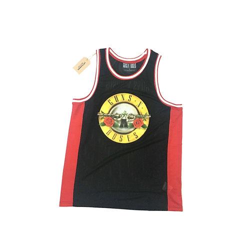 Guns N Roses Basketball Jersey