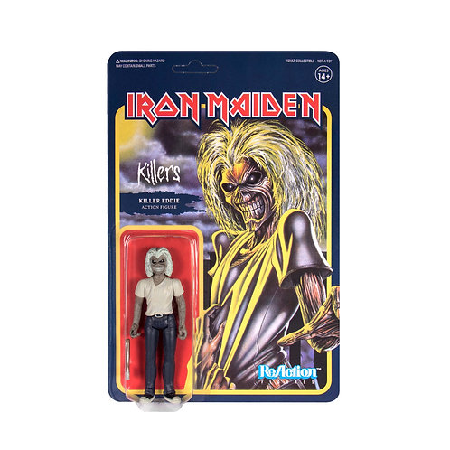 Iron Maiden Reaction Figure