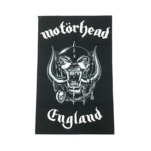 Motörhead Textile Poster (with two wall sticky hooks)